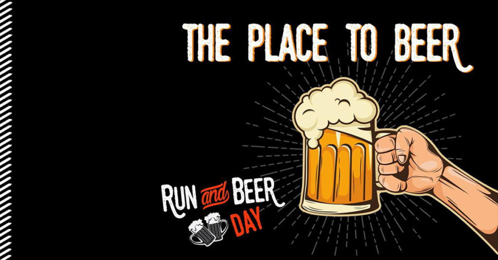 Run and beer day 2018
