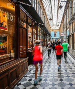 Passage parisien lors du Run My City