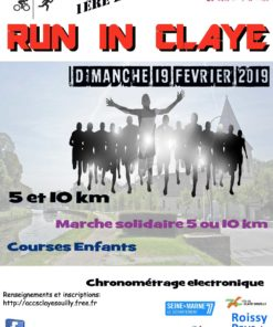 Affiche Run in Claye 2019