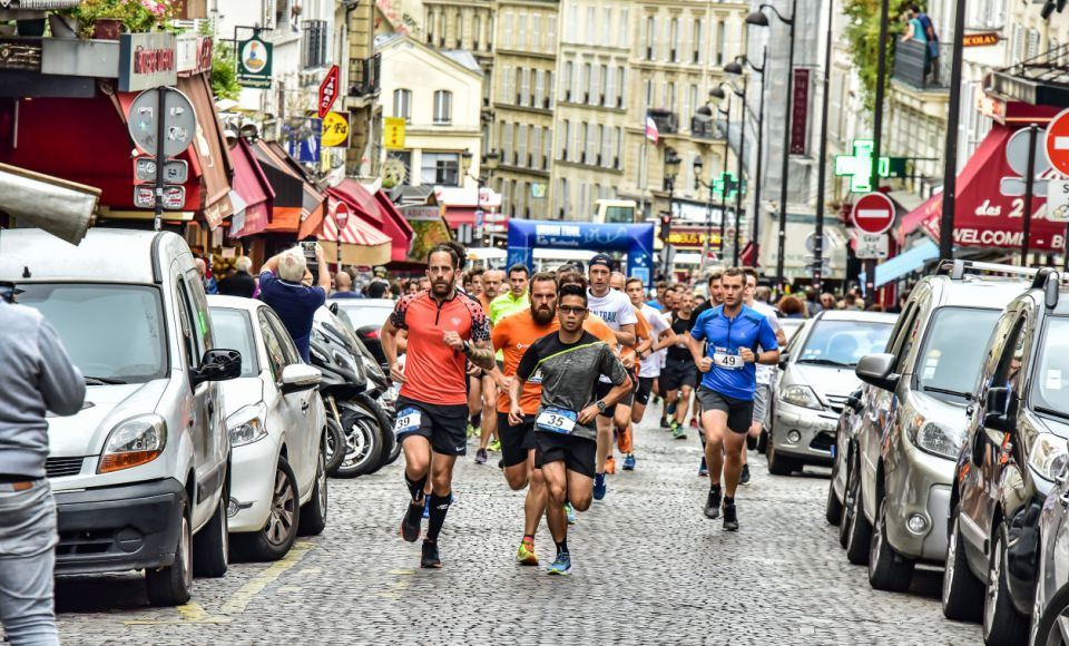 Course Urban Trail de la Butte Montmartre
