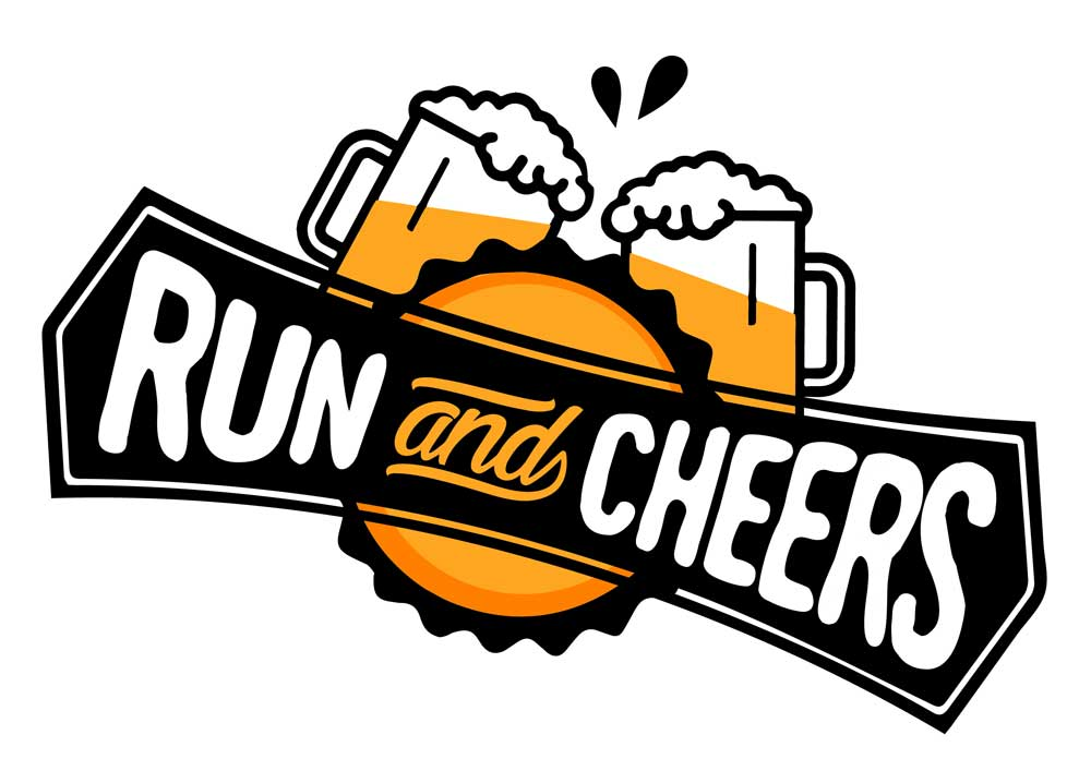 Logo de la Run and Cheers 2019
