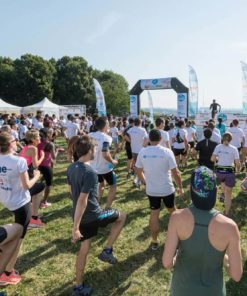 Echauffement sur la Medical Run