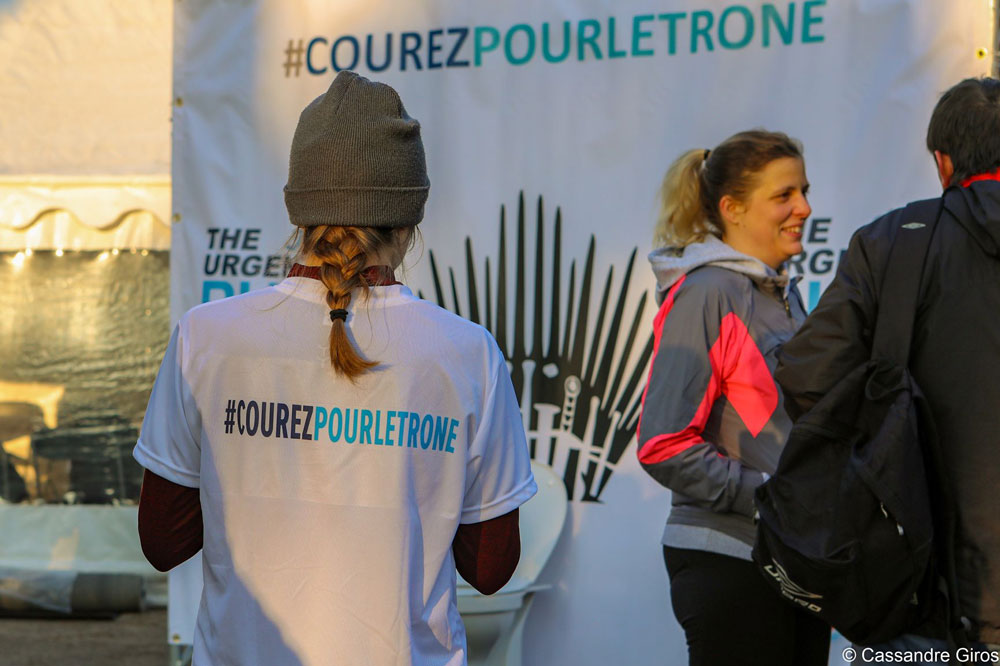 Courez pour le trone The Urgent Run Paris