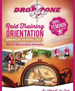 Affiche du raid DropZone Girls