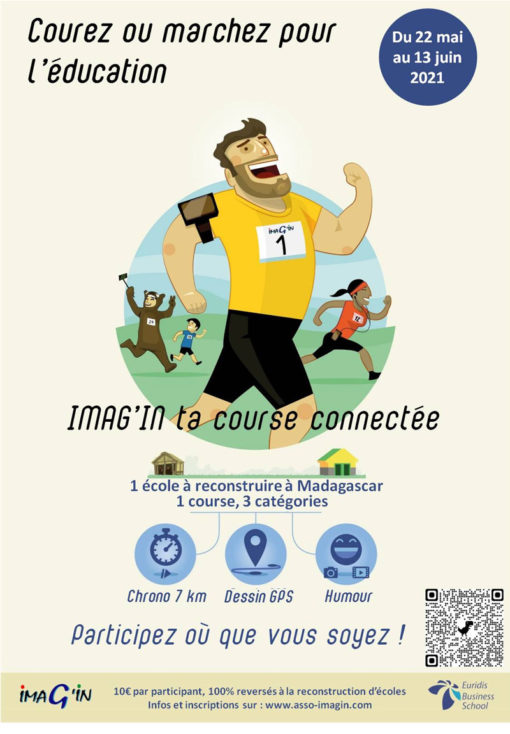 Affiche Imag'in ta course 2021